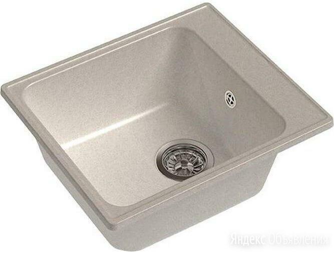 Мойка GranFest (ГранФест) 420 GF-Z17 для кухни из искусственного камня, белый по цене 3625₽ - Кухонные мойки, фото 0