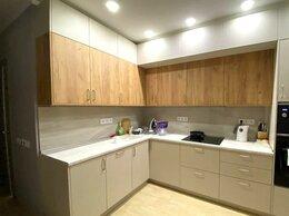 Шкафы, стенки, гарнитуры - Кухня в светло серых тонах, 0