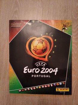 Спортивные карточки и программки - Panini Заполненный альбом Чемпионат Европы 2004, 0