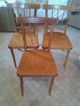Стулья, табуретки - Деревянные стулья 4 шт. ,50-х годов (СССР), 0