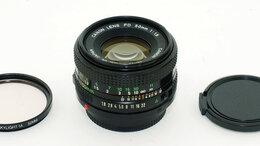 Объективы - Объектив Canon Lens FD 1:1,8 50mm, 0