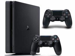 Игровые приставки - Игровая приставка Sony PlayStation 4 Slim…, 0