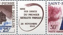 Марки - Телекоммуникации. Французский спутник A-1.…, 0