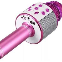 Микрофоны - Беспроводной караоке микрофон WSTER WS-858…, 0