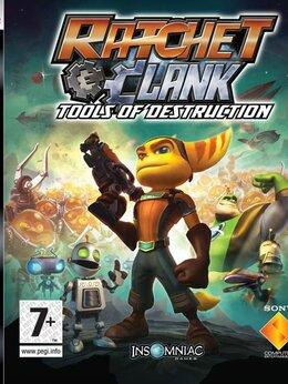 Игры для приставок и ПК - Видеоигра Ratchet And Clank Tools Of Destruction…, 0