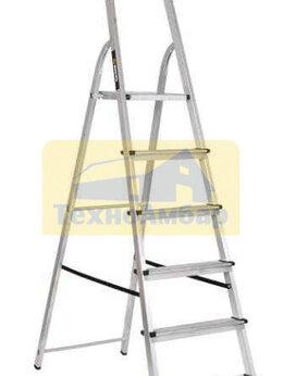 Лестницы и стремянки - Стремянка алюминиевая СА 1х6, 0