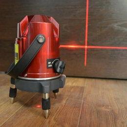 Измерительные инструменты и приборы - Лазерный уровень 5 линий, 6 точек, новый, 0