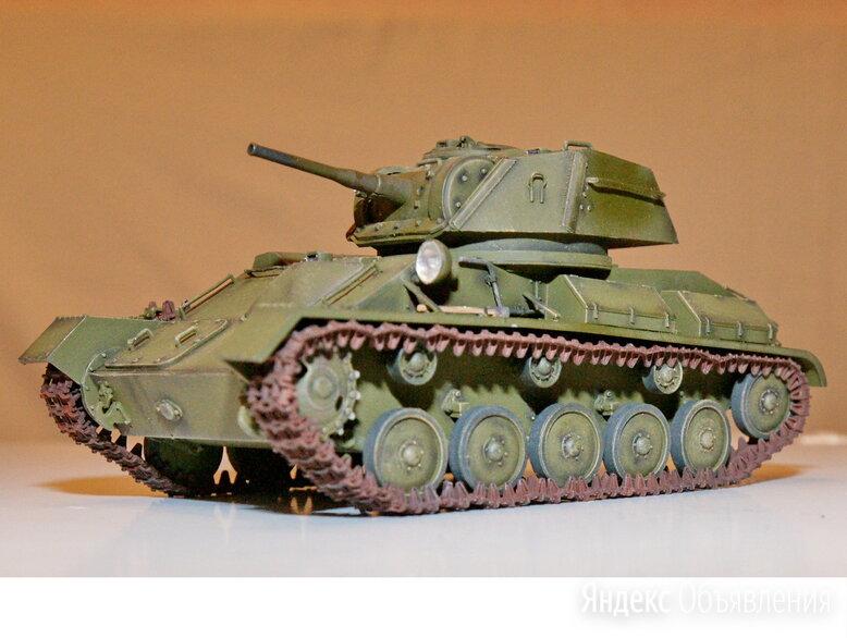 1/35 модель легкого танка Т-80 СССР 1942 год 1/35 по цене 7500₽ - Сборные модели, фото 0