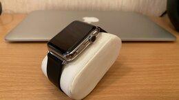 Умные часы и браслеты - Часы apple watch stainless steel, 0