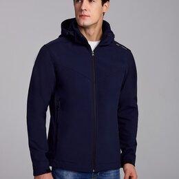 Куртки - Мужские утепленные куртки-ветровки на флисе (46-58), 0