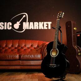 Акустические и классические гитары - Гитара акустическая Prado HS-3810 bk, 0