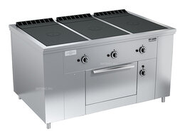 Промышленные плиты - Плита газовая Вулкан ПРГ-IIA-3С ДШ Maxi, 0