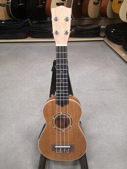 Укулеле - Электро-акустическая укулеле Fabio UK21-550, 0