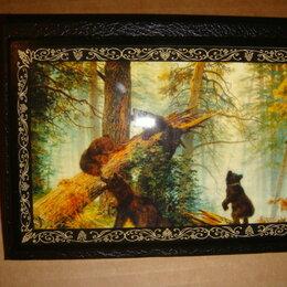 Фотоальбомы - Фотоальбом Палех Мишки в лесу, 0