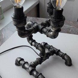 Настольные лампы и светильники - Лампа в стиле ЛОФТ, 0