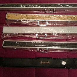 Чехлы - Алюминиевый жёсткий кейс для бильярдного кия, 0