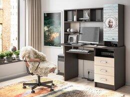 Компьютерные и письменные столы - Компьютерный стол с фотопечатью КС-002, 0