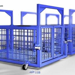 Прочие товары для животных - Весы для животных. Весы для КРС с подвесной клеткой на колёсах ВП-С 100 кг, 0