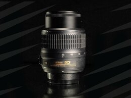 Пленочные фотоаппараты - Nikon AF-S 18-55 mm VR // 8407 📷 , 0