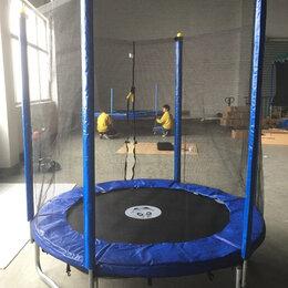 Каркасные батуты - Батут Trampoline 6ft 183см с защитной сеткой, 0