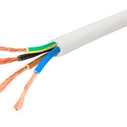 Кабели и провода - Электрокабель ПВС-4х2.5 белый (ГОСТ 7399-97), 0