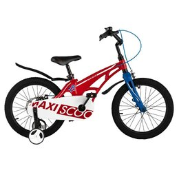 Велосипеды - Велосипед MAXISCOO Cosmic, Стандарт 18'' – Красный, 0