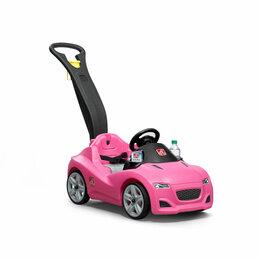 Машинки и техника - Каталка детская «Принцесса» (розовая), 0