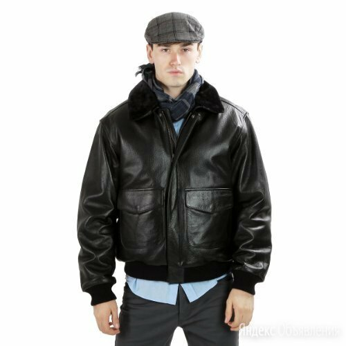 Куртка кожаная Calvin Klein по цене 20000₽ - Куртки, фото 0
