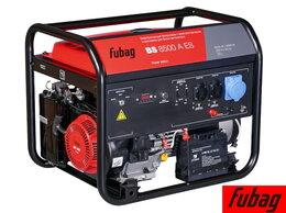 Электрогенераторы - Генератор бензиновый Fubag BS 8500 A ES 838253, 0