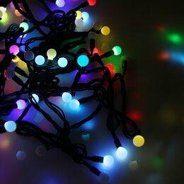 Новогодний декор и аксессуары - Новогодняя гирлянда Neon-Night Гирлянда светодиодная Шарики 220В Ø17.5мм 10м ..., 0