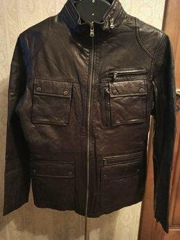 Куртки - Новая кожаная куртка Otto Kern р.50-52 Германия, 0