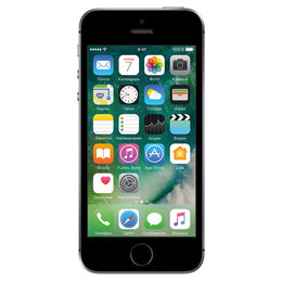 Мобильные телефоны - 🍏 iPhone SE 16Gb Space gray (серый космос) , 0