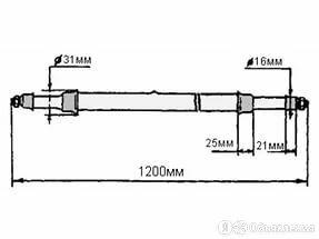 Лампа дуговая ртутная трубчатая ДРТ 2500 по цене 1800₽ - Устройства, приборы и аксессуары для здоровья, фото 0