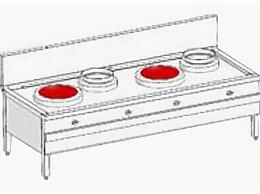 Промышленные плиты - Индукционная WOK станция Heidebrenner ETK-I-W…, 0