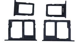 Прочие запасные части - Лоток для SIM-карты Samsung Galaxy J6/J4+…, 0
