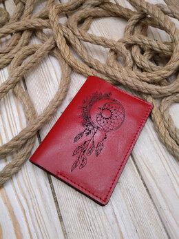 Обложки для документов - Обложка на паспорт ручной работы , 0