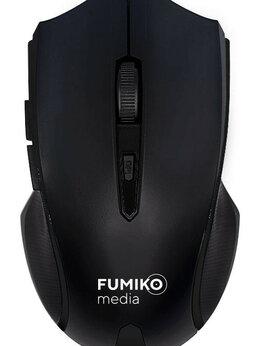 Мыши - Мышь беспроводная FUMIKO WM02 черная, 0
