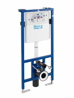 Комплектующие - Инсталляция для подвесных унитазов ROCA DUPLO WC…, 0
