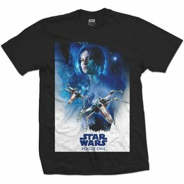 Футболки и майки - Футболка Star Wars - Rogue One: Jyn X-Wing 01…, 0