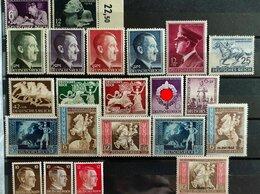 Марки - марки полный годовой набор 1942 Германия 3 рейх, 0