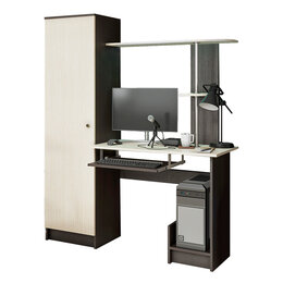 Компьютерные и письменные столы - Стол компьютерный КС-001, 0