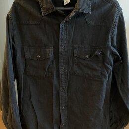 Рубашки - Джинсовая рубашка H&M, 0