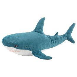Аквариумные рыбки - Акула Блохэй Ikea 55см (синяя), 0