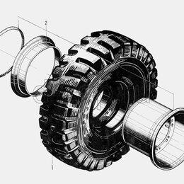 Автосервис и подбор автомобиля - Шиномонтаж / Перепрессовка цельнолитых шин, 0