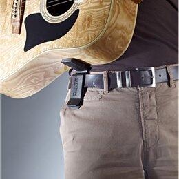 """Аксессуары и комплектующие для гитар - Стойка-упор для гитары на ремень фирмы K&M """"Pohlmann"""" Germany , 0"""