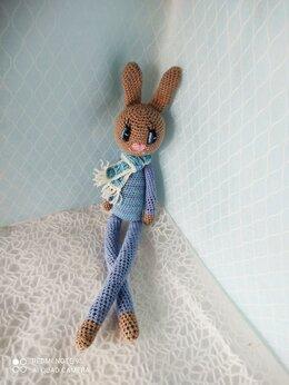 Мягкие игрушки - Заяц амигуруми, 0