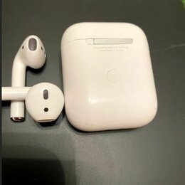 Наушники и Bluetooth-гарнитуры - Apple AirPods 2, люкс реплика, 0