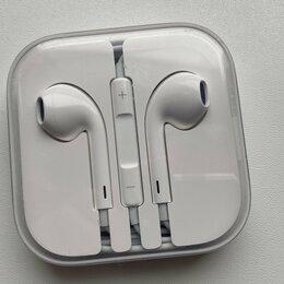 Наушники и Bluetooth-гарнитуры - Earpods наушники из комплекта от iPhone. Оригинал, 0