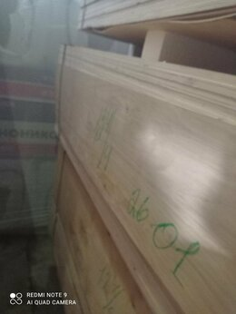 Древесно-плитные материалы - Фанера (1,525х1,525) х 12мм 4/4, 0