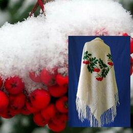 Шарфы и платки - Оренбургский пуховый платок шаль козий пух…, 0